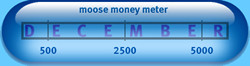 Moose Money Meter